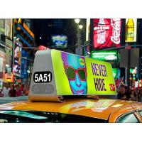 China P5mm Outdoor LED Display Taxi Billboard Digital Moving Full Color Light Weight For Fixed on sale