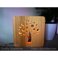 Buy cheap Pet Funeral Aftercare Supplies Innovative Memorial Gifts Tree of Life Wood Light from wholesalers