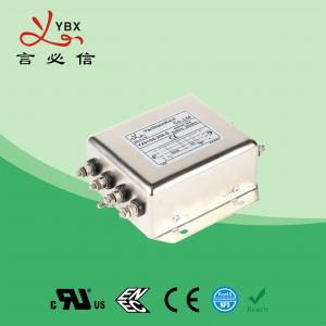 Quality Low Pass PV Inverter EMI Filter , DC EMI RFI Noise Filter Metal Case for sale