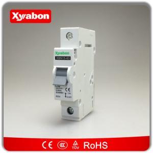 China Best price OEM hager mc model MCB circuit breaker 6A 10A 16A 20A 32A 40A 50A 63A type C SP 6kA wholesale
