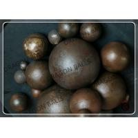 Quality Unbreakable Forged Grinding Media Balls Wear Resisting Multipurpose for sale