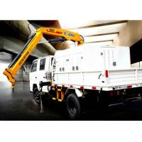 Quality Durable Lifting Knuckle Boom crane truck mounted 7.5m Max Lifting Height for sale