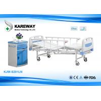 Quality Lightweight Manual Hospital Bed , Hospital Adjustable Bed 250 Kgs Weight Capacity for sale