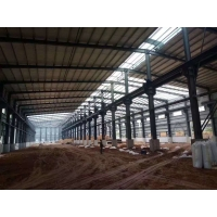 Quality Economical Warehouse Steel Structure Bolt Connection Normal Painting for sale