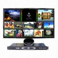 China 12-channel Standard-definition Digital Video/Audio Multiviewer with Dual Power Supply  on sale