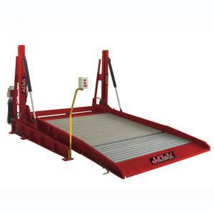 Quality PLC Control Auto Parking Lift Durable Two Post Total Width 2574mm Low Noise for sale