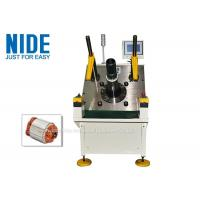 Quality Table Fan Motor Stator Coil Winding And Wedge Inserting Machine Semi Auto for sale