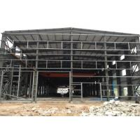 Quality Two Floors Steel Structure Workshop / Plant With Sliding Or Rolling Door for sale