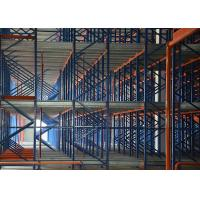 Quality All Material Handling Pallet Runner Racking System for Alll Temperature warehouse for sale