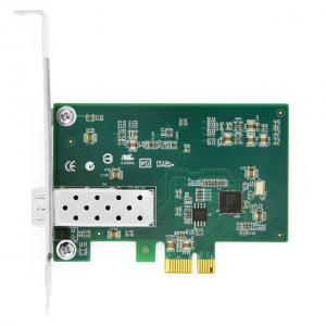 Buy cheap Intel® I210 F1 Single Port Gigabit SFP  PCI Express x1 Ethernet Server Adapter from wholesalers
