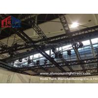 Quality RidaTent Outdoor Stage Light Truss , Aluminium Truss System Heavy Loading Capacity for sale