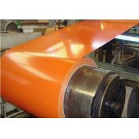 Quality Orange Color Pre Painted Galvanized Coils For Prefabricated House Warehouse for sale