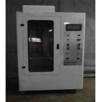 JG 3050-1998 Hard Casing Flame Retardant Performance Testing Equipment with Flame Height 100mm