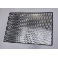 China 460*660 Mm Perforated Drying Stainless Steel Mesh Tray For Dry Herbs on sale