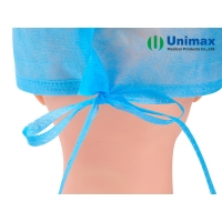 Quality Unimax Medical SMS Disposable Non Woven Cap with Ties ISO13485 for sale