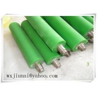 Quality Environmental Polyurethane Coating Rollers high strength for Coal Mining for sale
