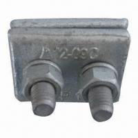 Quality Parallel Groove Clamp, Made of Carbon Steel, with Hot-dipped Galvanized Finish for sale