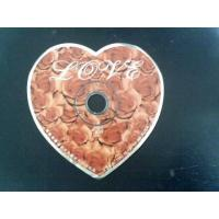 Quality Heart Shape CD DVD Replication for sale
