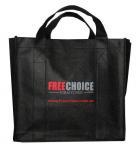 Quality attractive design zipper non-woven bag for sale