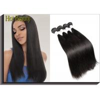 Peruvian Remy Virgin Human Hair Extensions , Silky Straight Wave