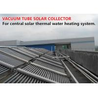 Quality Economic Vacuum Tube Solar Collector Horizontal Mounted 50 Collector Tubes / Set for sale