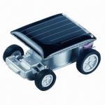 Quality Mini Solar Racer Car, Solar Powered Gift/Car Solar Doll/Auto-solar Doll/Car Solar Toy/Auto-solar Toy for sale