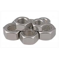 Quality SS304 / 316 A2/A4 SAE Stainless Steel Hex Nuts Fastener For Threaded Rod Passivated 1/2 for sale