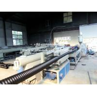 Quality Plastic HDPE Underground Cable Protection Pipe Extrusion Machine for sale