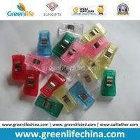 China Plastic Office Supply Transparent Colors Paper Clip Office Supply on sale
