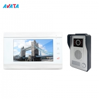 Quality China Factory Video IP Video Door Phone Smart Camera Doorbell Access Control System for Villa for sale