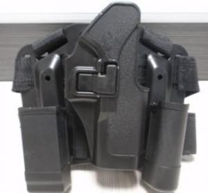 Quality Plastic Pistol CQC glock 17 holster /BlackHawk Tactical Holster for sale