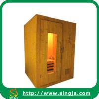 China Small Sauna Room with Wood Frame Door(SR-A3) on sale