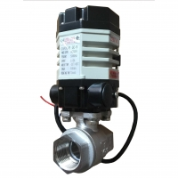 Quality Stainless Steel 2000psi High Pressure Electric Actuated Ball Valve for sale