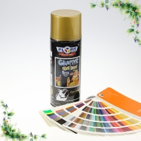 Quality High Visible Graffiti Aerosol Paint Colorful Spray Paint Fading Resistant for sale