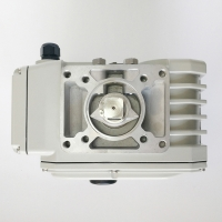 Quality 380VAC Quarter Turn Electric Actuator With Final Stage Worm Sector Gear for sale
