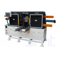 Quality Horizontal Type Long Stack Length Pump Stator Coil Pre - Forming Machine Big Power for sale