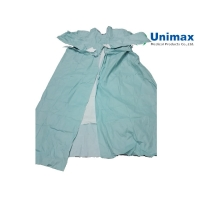 Quality 70gsm Spunlace Surgical Gown EN 13795 Operation Room for sale