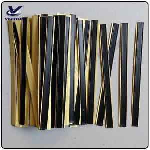 China good quality coffee bag TIN TIE, tea bag tin tie, bag twist tie, tin tie with adhesive on sale