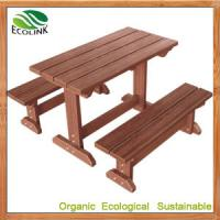 Quality Chinese WPC Picnic Table Set for outdoor furniture for sale