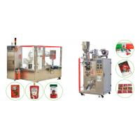 China Canned Tomato Paste /Ketchup/Sauce/Sachet Packing Machine-Turnkey Project on sale