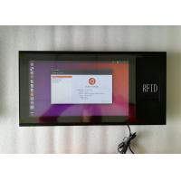 China 400 Nits Brightness 10MM Industrial Touch Panel PC 15.6 Inch With 3G RFID Module on sale