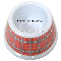 China Melamine Pet Bowl (PB07001) on sale
