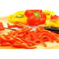Quality Frozen Mixed Red & Green Sweet Pepper Stripes for sale