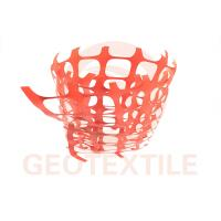 350 Lbs / Ft Plastic Security Fencing , 70 * 40mm Orange Plastic Temporary Fencing