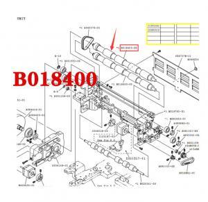 Quality NORITSU QSS32/37 minilab EXPOSURE ADVANCE ROLLER B018400-00 / B018400 for sale