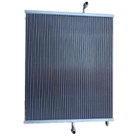 Quality A1675000300 48mm Width Aluminium Radiator For Mercedes for sale