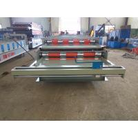 Quality Alumimum Plate Metal Wall Panel Roll Forming Machine Automatic Operation for sale