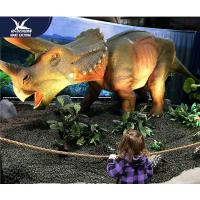 Buy Water Resistant 4 Meters Large Realistic Dinosaur Models For Museum / Square at wholesale prices
