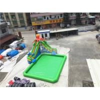 Quality Outdoor Inflatable Water Park For Kids / Extreme Fun Water Theme Park for sale