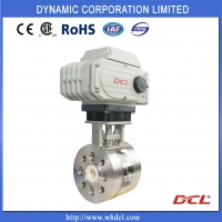 Quality Direct Mounting Actuator CF3M Electric Actuated Ball Valve for sale